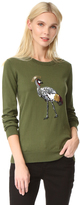 Markus Lupfer Sequin Bird Sweater
