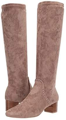 Jack Rogers Gemma Tall Heeled Boot (Taupe) Women's Shoes