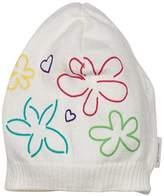 Sterntaler Baby Girls 'Knitted Hat, Size: 47 cm, weiß (White 500)