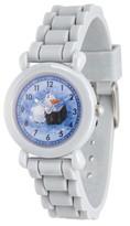Disney Frozen 2 Olaf Boys' Gray Plastic Watch, 1-Pack