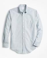 Brooks Brothers Regent Fit Oxford Stripe Sport Shirt