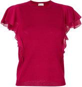 RED Valentino knitted top - women - Silk/Spandex/Elastane/Virgin Wool - XS