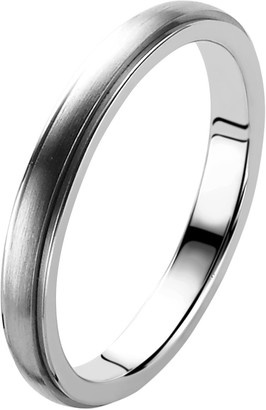 Orphelia Unisex Silver Wedding Ring - OR9730/3/A1/52
