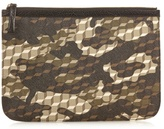 Pierre Hardy Cube And Camouflage-print Coated-canvas Pouch