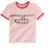 La Redoute Collections Submarine Print T-Shirt, 3-12 Years