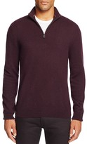 The Men's Store at Bloomingdale's Cashmere Half-Zip Sweater