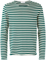 Societe Anonyme 'Universal' striped pullover - unisex - Cotton - XL