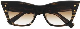 Balmain Eyewear x Akoni B-II cat-eye sunglasses