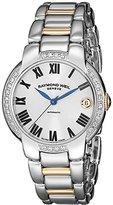 Raymond Weil Women's Jasmine Stainless Steel Watch with Two-Tone Stainless Steel Link Bracelet