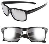 Oakley Men's Sliver Chrome Iridium 57Mm Sunglasses - Black