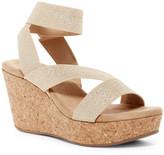 Splendid Gavin Elastic Strap Wedge Sandal