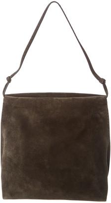 The Row Wander Suede Shoulder Bag