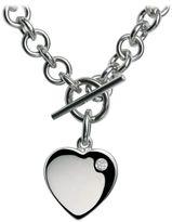Hot Diamonds Lovelocked silver necklace