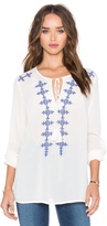 Glamorous Embroidered Top