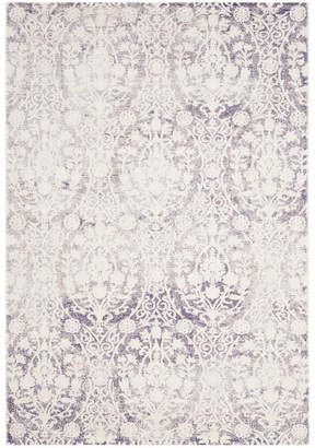"Safavieh Passion Lavender and Ivory 6'7"" x 9'2"" Area Rug"