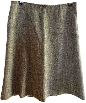 Isabel Marant Brown Wool Skirt for Women