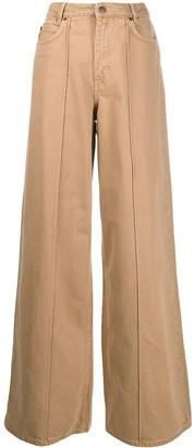 Victoria Victoria Beckham High-Rise Wide Leg Jeans