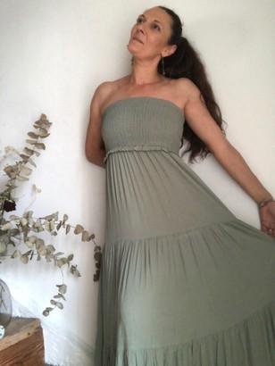 B.young Long Khaki Dress/795 - 34