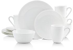 Mikasa Loria White 16-Piece Dinnerware Set