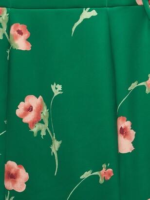 Phase Eight Anais Scuba Dress, Jade