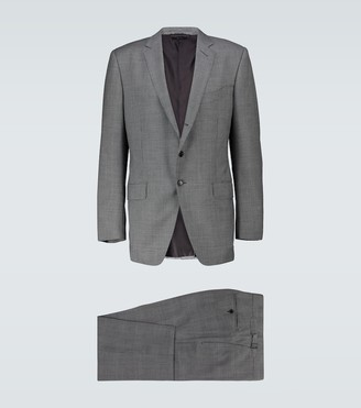 Tom Ford O'Connor checked wool suit