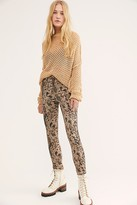 We The Free Raw High Rise Printed Jeggings by at Free People Denim