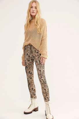 We The Free Raw High Rise Printed Jeggings