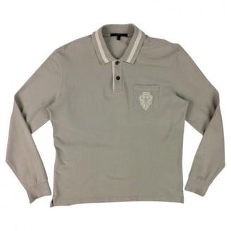 Gucci Beige / Grey Cotton Polo shirts