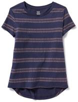 Old Navy Relaxed Hi-Lo Scoop-Neck Tee for Girls