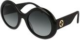 KERING EYEWE Gucci 0101 Round Sunglasses