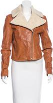 Adam Shearling Leather Jacket