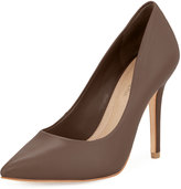 BCBGMAXAZRIA Opia Leather Pointed-Toe Pump