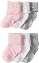 Carter's Baby-Girls 6 Pack Dress Booties Socks