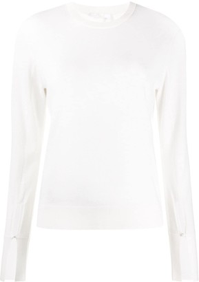 Chloé Button Cuff Jumper