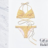 Tommy Hilfiger Stripe Bikini Gigi Hadid