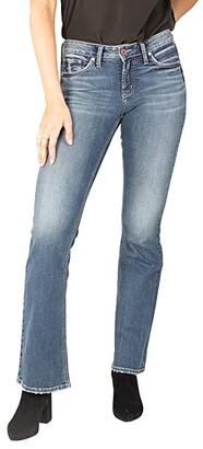 Silver Jeans Co. Suki Mid-Rise Curvy Fit Bootcut Jeans L93719EGX210 (Indigo) Women's Jeans