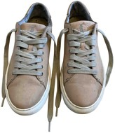 Polo Ralph Lauren Brown Leather Trainers
