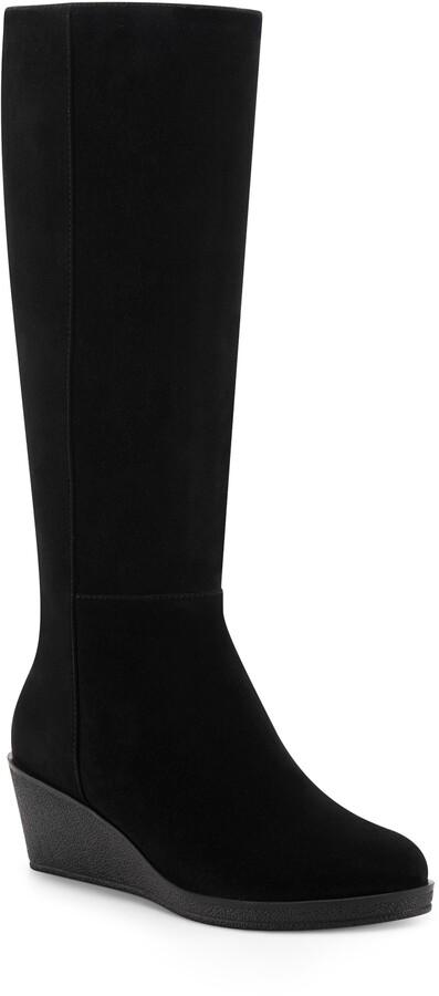 Aerosoles Brenna Knee High Wedge Boot