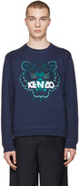 Kenzo Navy Tiger Pullover