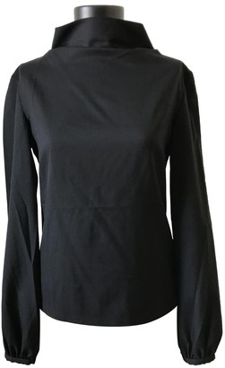A.P.C. Black Wool Top for Women Vintage