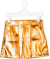 Andorine metallic skirt