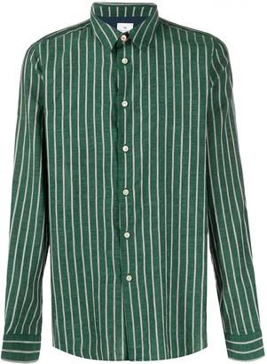 Paul Smith Striped Long-Sleeve Shirt