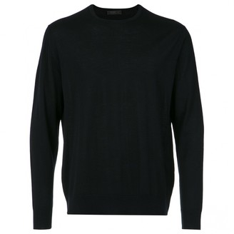 Prada Blue Wool Knitwear & Sweatshirts