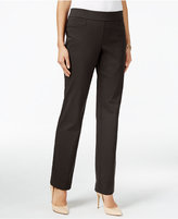 JM Collection Pull-On Slim-Leg Pants, Only at Macy's