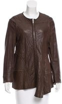 Marni Quilted Leather Jacket