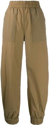 Ganni pocket detail track pants