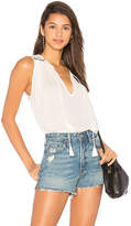 Indah Saint Embroidered Tank in Ivory. - size M/L (also in S/M,XS/S)