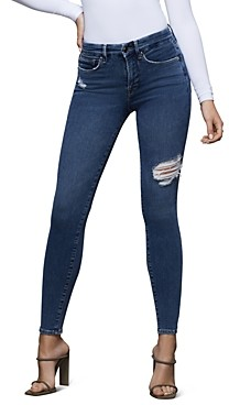 Good American Good Legs High-Rise Skinny Jeans in Blue371