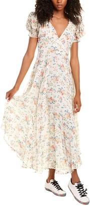 LoveShackFancy Faith Silk Dress