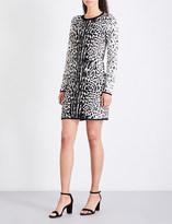MICHAEL Michael Kors Leopard-print jacquard-knit mini dress